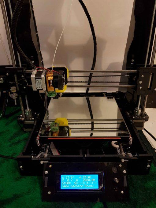 پرینتر سه بعدی سامو ماشین