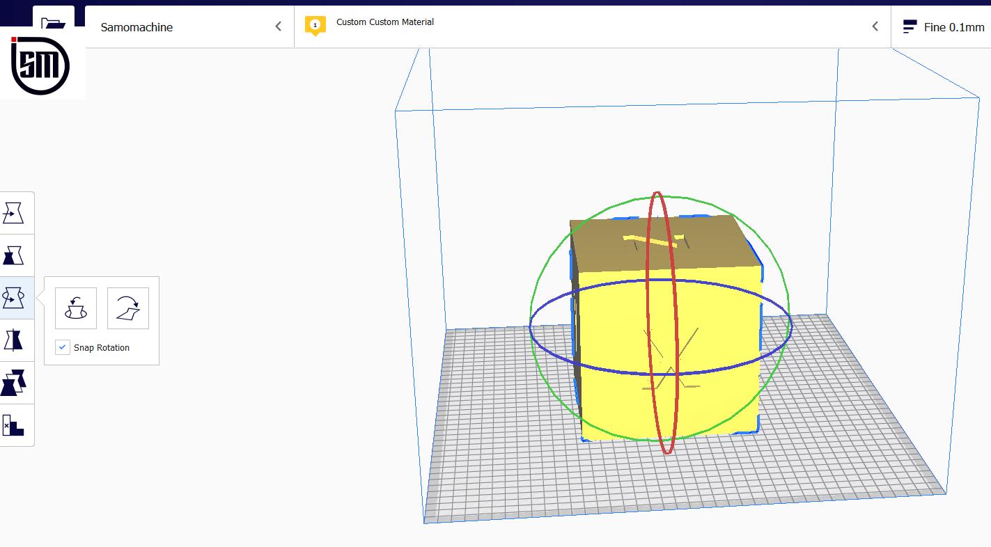 گزینه rotate در نرم افزار کیورا چه کاربردی دارد؟
