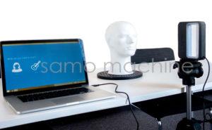 اسکنر سه بعدی برای اسکن چهره