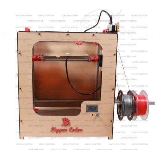 چاپگر سه بعدی دو رنگ